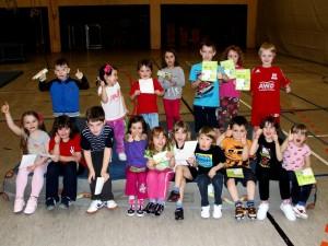 2013 Internes Sportabzeichen bei 4 bis 6-Jährigen